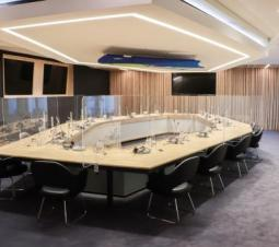 Gerenoveerde Ministerraadzaal