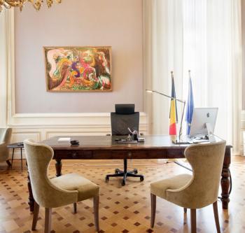 Het kantoor van de eerste minister (© FOD Kanselarij van de Eerste Minister)